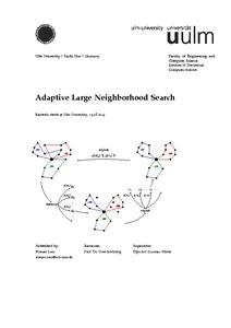 Adaptive Large Neighborhood Search