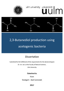 2,3-Butanediol production using acetogenic bacteria