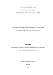 chorea huntington dissertation